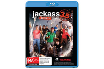 Jackass 35 Blu-ray Region B