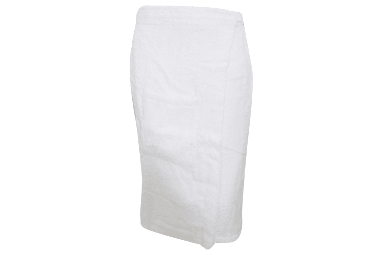 Towels By Jassz Sauna Towel (Pack of 2) (White) (S)