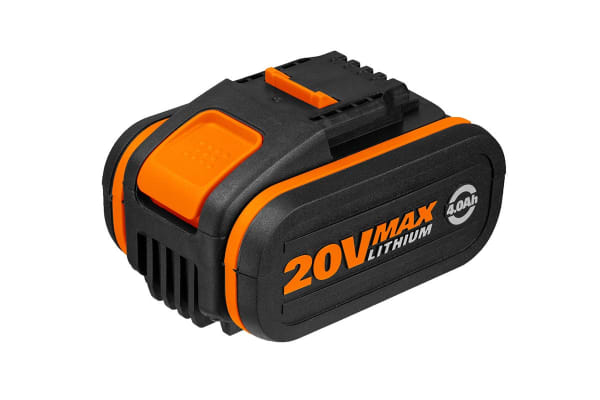 WORX Powershare 20V 4.0Ah MAX Lithium-ion Battery with Battery Indicator (WA3553)