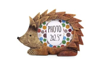 Something Different Hedgehog Photo Frame (Brown) (One Size)