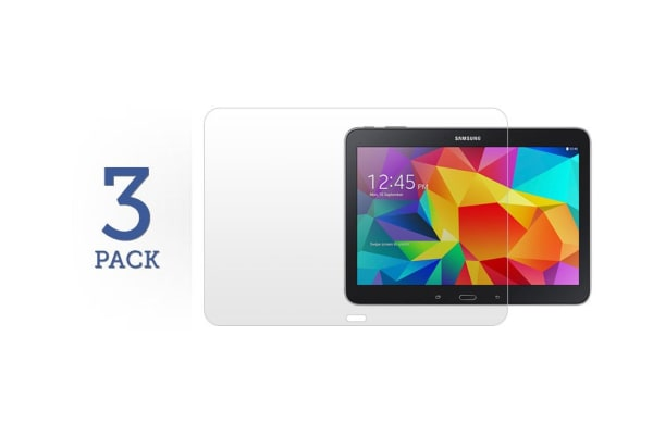 """3 Pack Screen Protector for Samsung Galaxy Tab 4 10.1"""""""