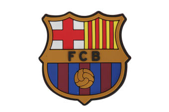 FC Barcelona Official Football Crest Fridge Magnet (Multicoloured) (One Size)