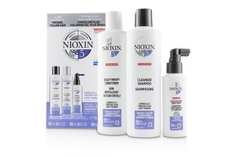 Nioxin 3D Care System Kit 5 - For Chemically Treated Hair  Light Thinning 3pcs