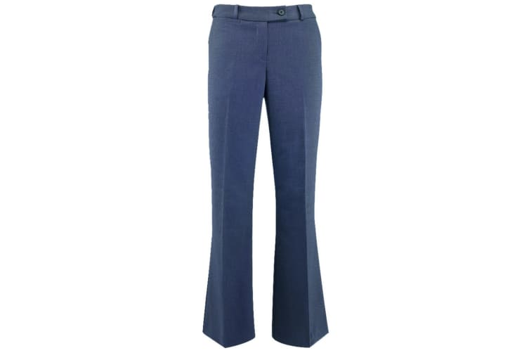 Alexandra Womens/Ladies Icona Bootleg Formal Work Suit Trousers (Charcoal) (8R)