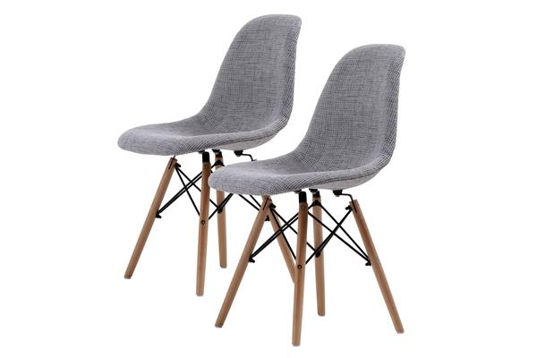Replica Eames DSW Dining Chair - GREY X2