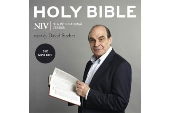 The Complete NIV Audio Bible - Read by David Suchet (MP3 CD)