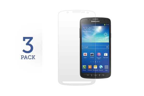3 Pack Screen Protector for Samsung Galaxy S4 Active