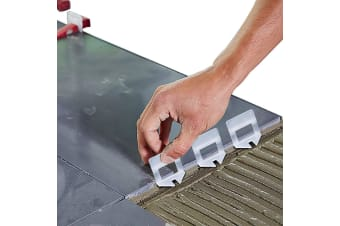 600x 1MM Tile Leveling System Clips Levelling Spacer Tiling Tool Floor Wall  -  Clips(1mm) X600