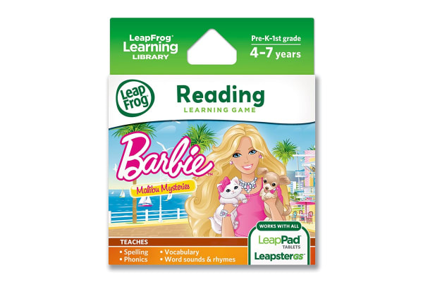 LeapFrog Learning Game Barbie Malibu Mysteries
