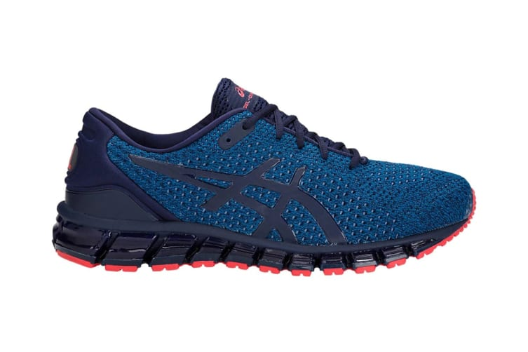 ASICS Men's Gel-Quantum 360 KNIT 2 Running Shoe (Race Blue/Peacoat, Size 7)