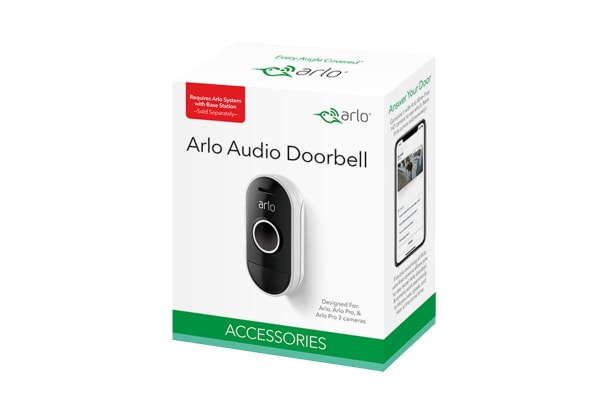 Arlo Smart Wire Free Audio Doorbell with Two-Way Talking & Remote Monitoring (AAD1001-100AUS)