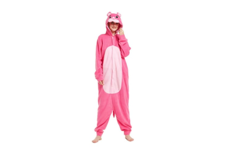 Cute Cartoon Character Animal One-Piece Pajamas For Adult S