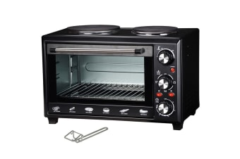 Maxim 28L Oven With Twin Hot Plates (MOHP28)