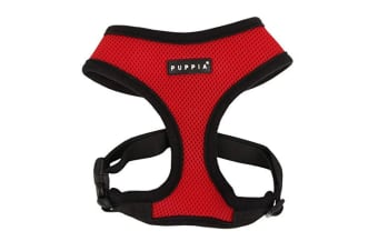 Puppia Soft Dog Harness (Red)