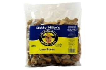 Betty Millers Liver Bone Dog Treats (Pack Of 6) (May Vary) (One Size)