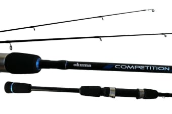 9ft Okuma Competition 6-14lb Graphite Spin Rod with Split Grip Butt