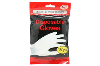 6 x Gloves Disposable 150pk