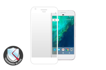 Premium Tempered Glass Screen Protector for Google Pixel XL (White)
