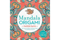 Mandala Origami Paper Pack - More than 250 Sheets of Origami Paper in 16 Meditative Patterns
