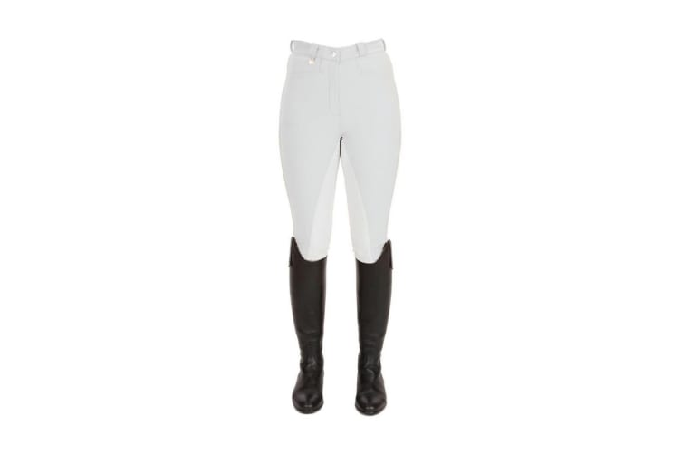 HyPERFORMANCE Womens/Ladies Pro Breeches (White) (28in)