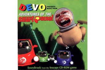 Devo – Music From Adventures Of The Smart Patrol MUSIC CD NEW SEALED