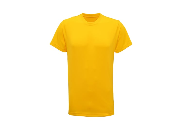 Tri Dri Mens Short Sleeve Lightweight Fitness T-Shirt (Sun Yellow) (L)