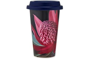 Ashdene Native Grace Travel Mug 310ml Waratah
