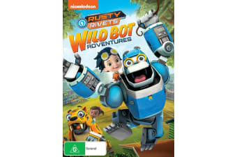 Rusty Rivets Animal Bot Adventures DVD Region 4