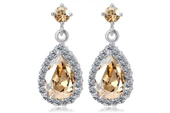 Isabella Earrings Embellished with Swarovski crystals