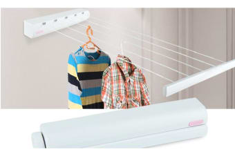 Heavy Duty Retractable 5 Line Hang-drying Rack