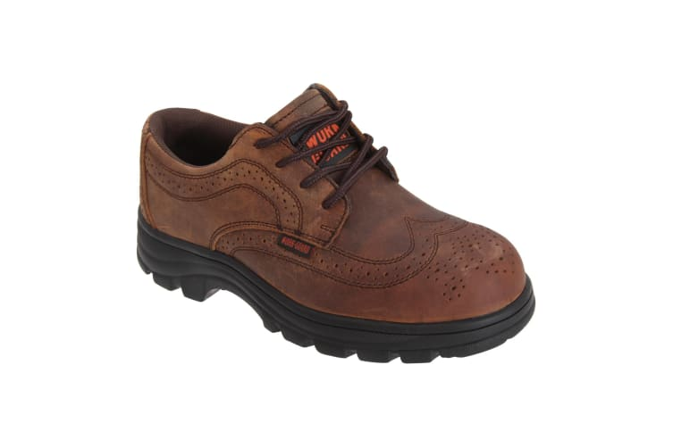 Result Mens Work-Guard S1P Managers Lace Up Safety Brogues (Brown) (10)