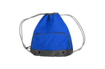 Bagbase Athleisure Water Resistant Drawstring Sports Gymsac Bag (Pack of 2) (Bright Royal) (One Size)