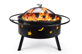 Cookmaster 2-in-1 Outdoor Fire Pit Bowl