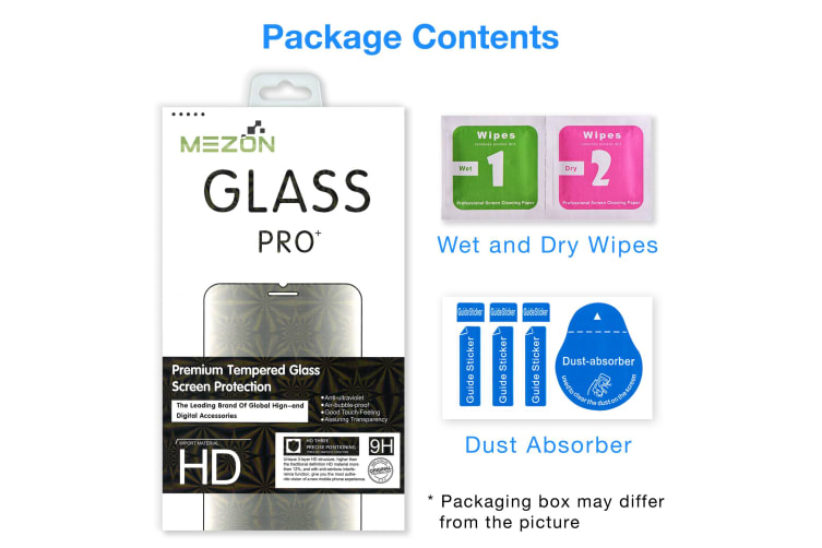 [2 Pack] Samsung Galaxy A30 Tempered Glass Crystal Clear Premium 9H HD Screen Protector by MEZON – Case Friendly, Shock Absorption (A30, 9H) – FREE EXPRESS