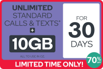 Kogan Mobile Prepaid Voucher Code: LARGE (30 Days | 10GB)