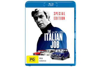 The Italian Job Blu-ray Region B