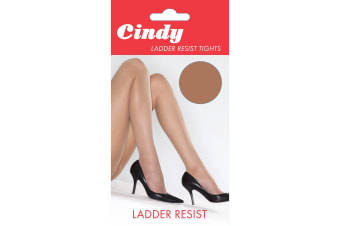 Cindy Womens/Ladies Ladder Resist Tights (1 Pair) (American Tan)