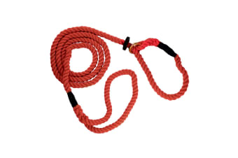 The Animate Company Outhwaites Gun Dog Rope Slip Lead (Red)