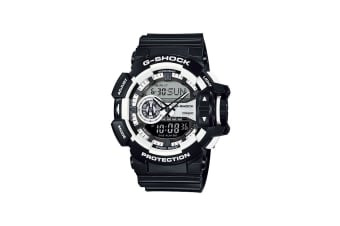 Casio G-Shock Ana-Digital Watch - Black/White (GA400-1A)