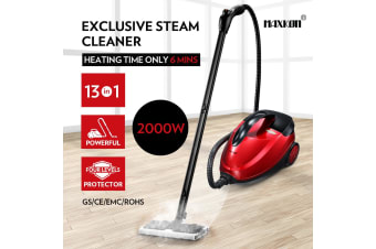 Maxkon 1.5L Steam Cleaner Mop 13-in-1 High Pressure Floor Window Carpet Steamer