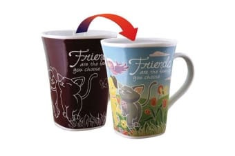 Colour Changing Story Mug - Friend