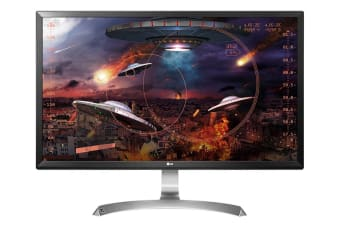 "LG 27"" 4K UHD IPS LED Monitor with AMP FreeSync (27UD59-B)"