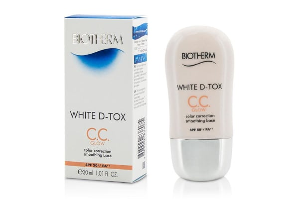 Biotherm White D Tox CC Color Correction Smoothing Base SPF 50 - Glow (Coral) (30ml/1.01oz)