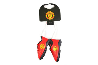 Manchester United Boot Car Hanger (Multicolour)
