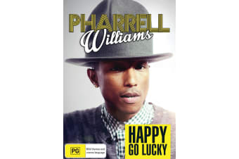 Pharrell Williams Happy Go Lucky DVD Region 4