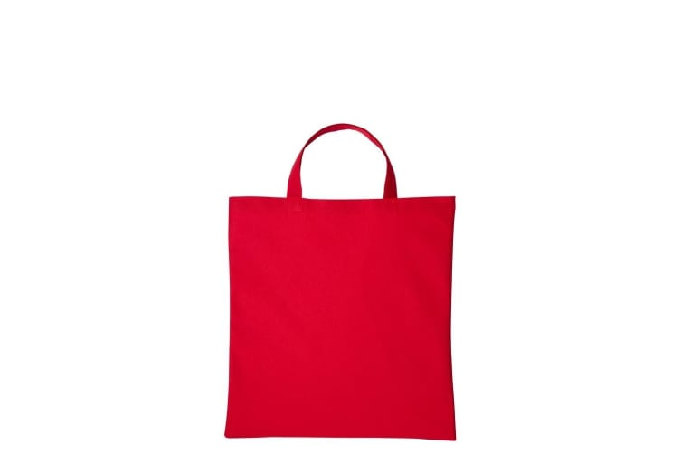Nutshell Cotton Short Handle Shopper (Hot Red) (One Size)