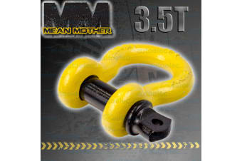 4x4 4WD RECOVERY BOW SHACKLE TOW WINCH SNATCH 3.5 TONNE MEAN MOTHER 16x19 MM511