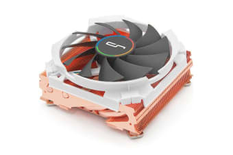 CRYORIG C7 Cu Top Flow Low Profile CPU Cooler with Full Copper top