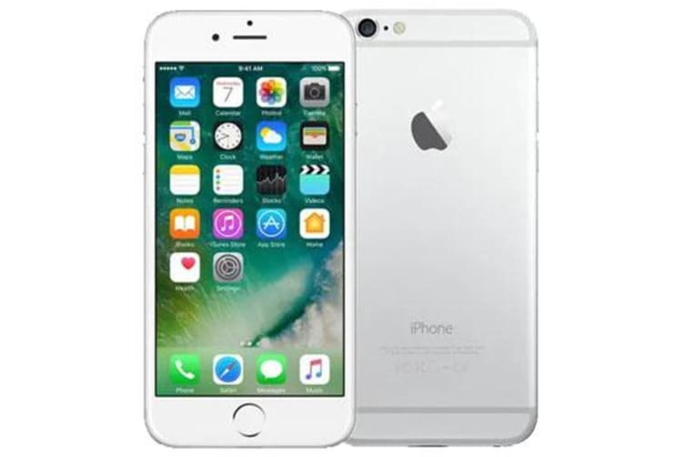 Used as Demo Apple iPhone 6 128GB 4G LTE Silver (100% GENUINE + AUSTRALIAN WARRANTY)