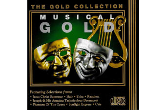 Musical Gold: The Gold Collection BRAND NEW SEALED MUSIC ALBUM CD - AU STOCK